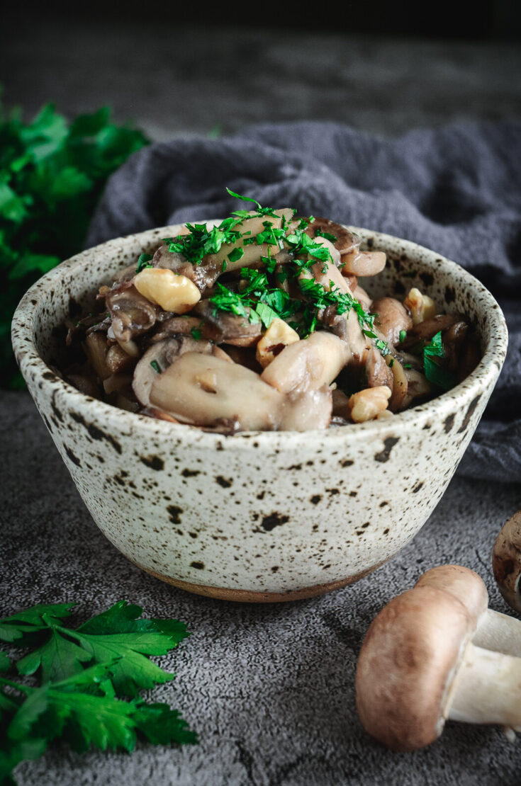 Best Dry-Sautéed Mushrooms