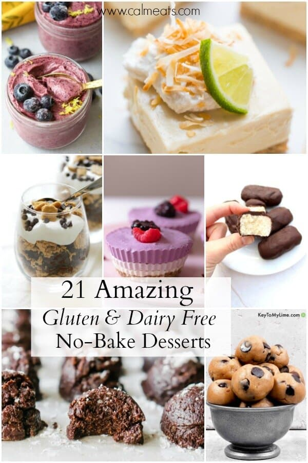 21 Simple Gluten And Dairy Free No Bake Desserts Calm Eats