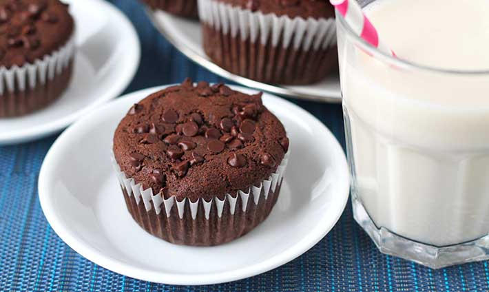Rich Gluten-Free Vegan Chocolate Muffins - Delightful Adventures