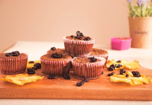 Gluten-free Flourless Muffins with Maple Syrup